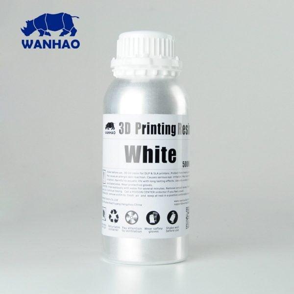 [tag] Wanhao 3D-Printer UV Resin – 500 ml – White Resin