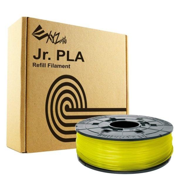 [tag] XYZprinting Da Vinci Junior PLA – 600g – Transparent Gul XYZprinting Da Vinci Jr. Filament