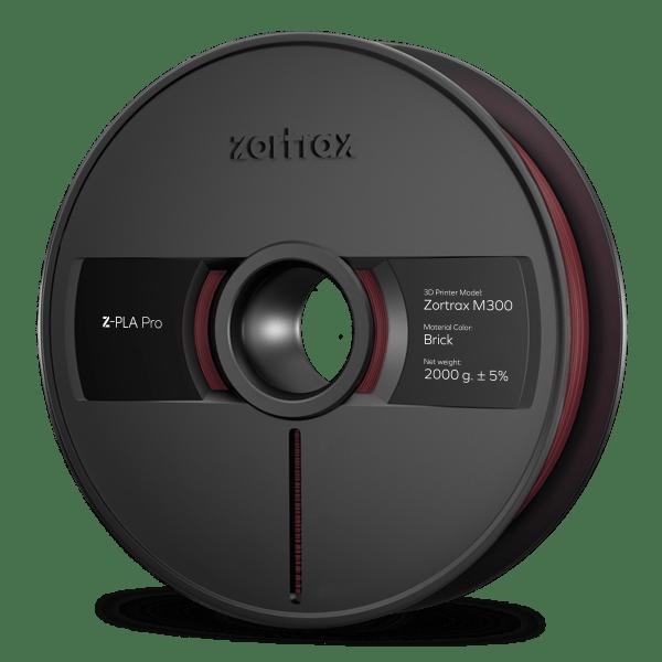 [tag] Zortrax Z-PLA Pro – M300 – 1,75mm – 2 kg – Brick Zortrax Filament