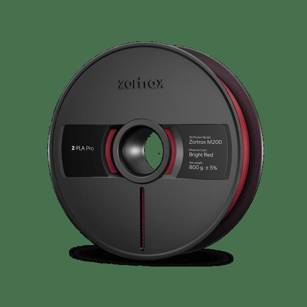 [tag] Zortrax Z-PLA Pro – 1,75mm – 800g – Bright Red Zortrax Filament