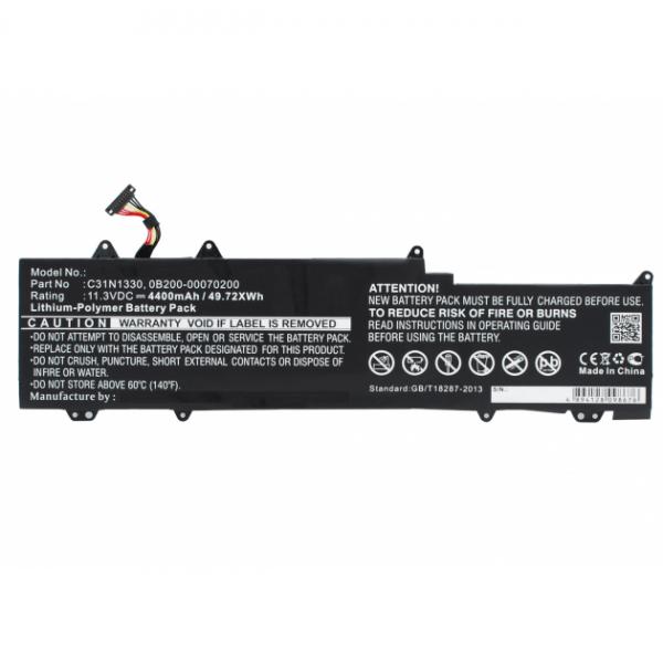 [tag] C31N1330 batteri til bl.a. ASUS Zenbook UX32LA (Kompatibelt) 4400mAh Batterier Bærbar