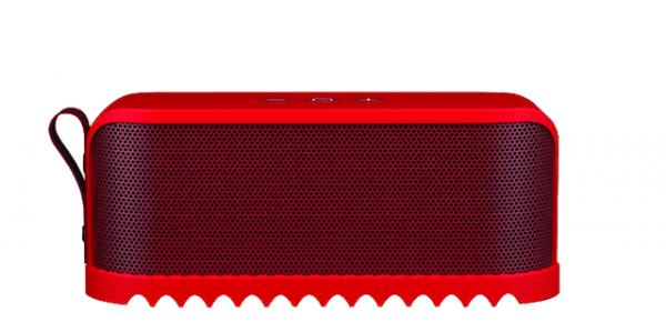 [tag] Jabra Solemate Bluetooth Højtaler-Rød hoektalere