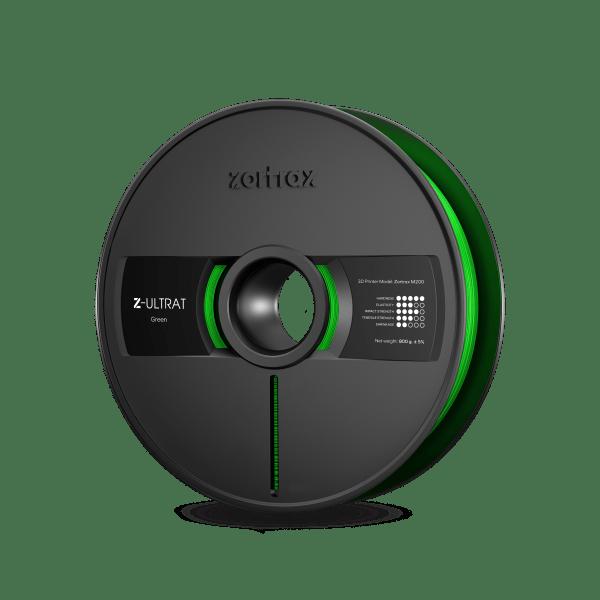 [tag] Zortrax Z-ULTRAT – 1.75mm – 800g – Green Zortrax Filament