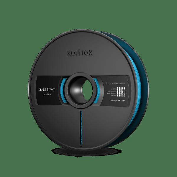 [tag] Zortrax Z-ULTRAT – 1.75mm – 800g – Neon Blue Zortrax Filament