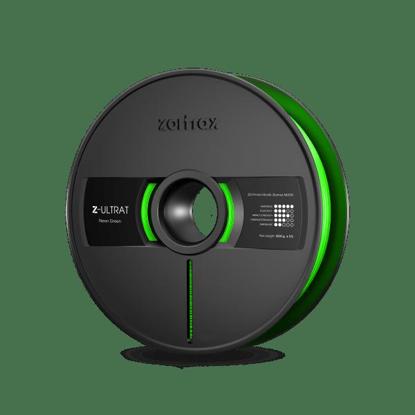 [tag] Zortrax Z-ULTRAT – 1.75mm – 800g – Neon Green Zortrax Filament