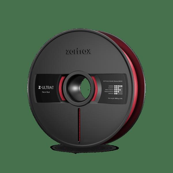 [tag] Zortrax Z-ULTRAT – 1.75mm – 800g – Neon Red Zortrax Filament