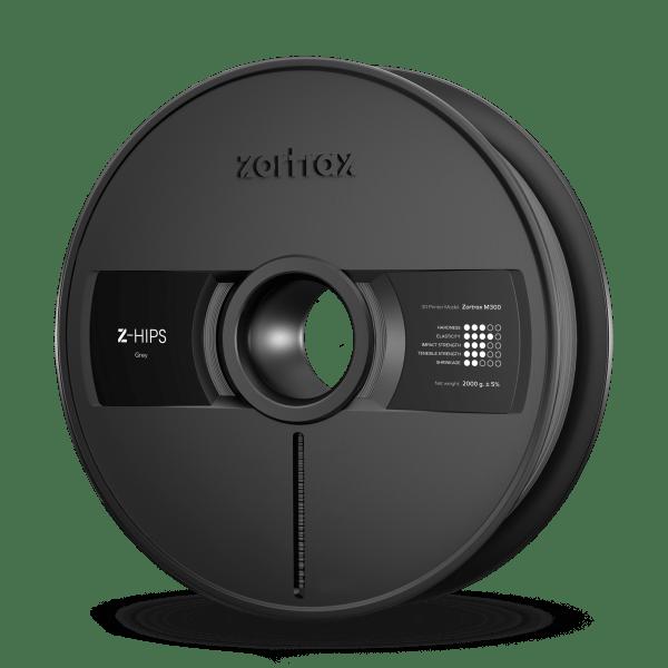 [tag] Zortrax Z-HIPS – M300 – 1.75 mm – 2 kg – Grey Zortrax Filament