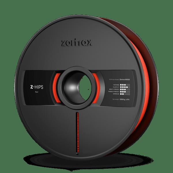 [tag] Zortrax Z-HIPS – M300 – 1.75 mm – 2 kg – Red Zortrax Filament
