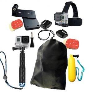 [tag] Rejsepakke til GoPro Mounts & tilbehør til GoPro