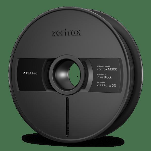 [tag] Zortrax Z-PLA Pro – M300 – 1,75mm – 2 kg – Pure Black Zortrax Filament