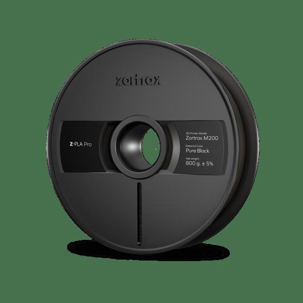 [tag] Zortrax Z-PLA Pro – 1,75mm – 800g – Pure Black Zortrax Filament