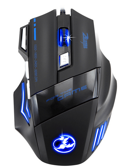[tag] Zelotes Scorpion gaming mouse Gamer mus