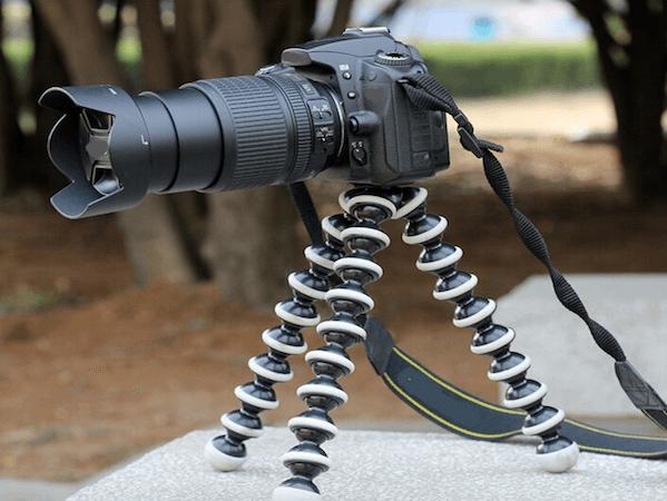 [tag] Tripod Gorillapod stativ til Digitalkamera Mounts & tilbehør til GoPro