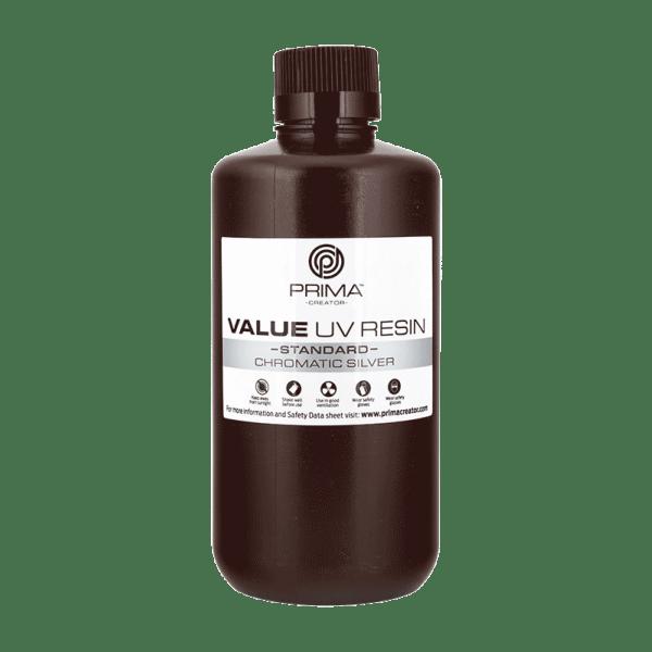 [tag] PrimaCreator Value UV / DLP Resin – 1000 ml – Chromatic Silver Resin