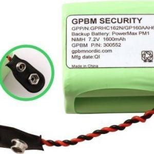 [tag] 160AAH6YMX batteri, Passer til alarmsystem PM1 PÅ LAGER IGEN UGE 16 Alarm batterier