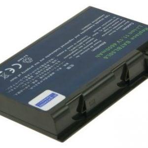 [tag] BT.00605.004 batteri til Acer Aspire 3100 (Kompatibelt) 4600mAh Batterier Bærbar