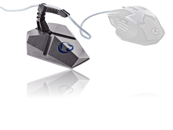 [tag] Mouse Bungee m. fleksibel klemme Gamer mus